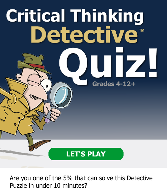 Critical Thinking Detective Quiz! 10-Minute Challenge! Are you in the top 5%?