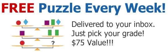 Free Critical Thinking Puzzles!